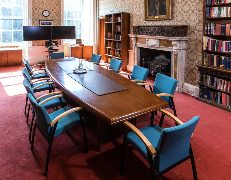Interior of the Board Room, available for meetings and conference venue hire