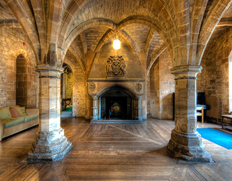 Interior of the Crypt, available for meetings and conference venue hire